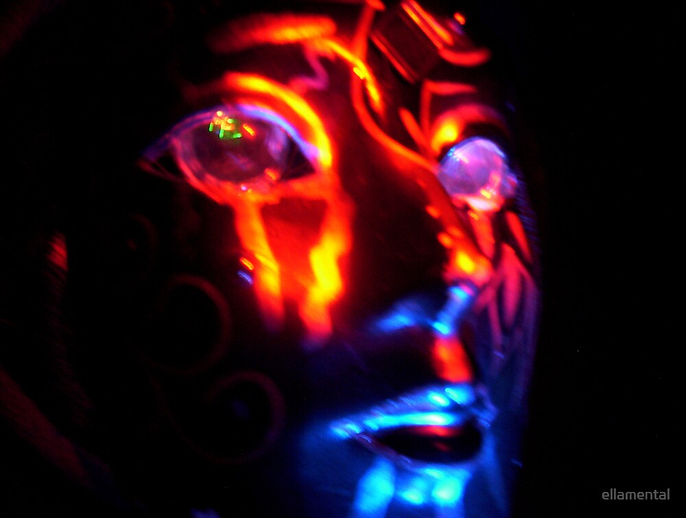 MASKS  OF  LIGHT  #1 by ellamental