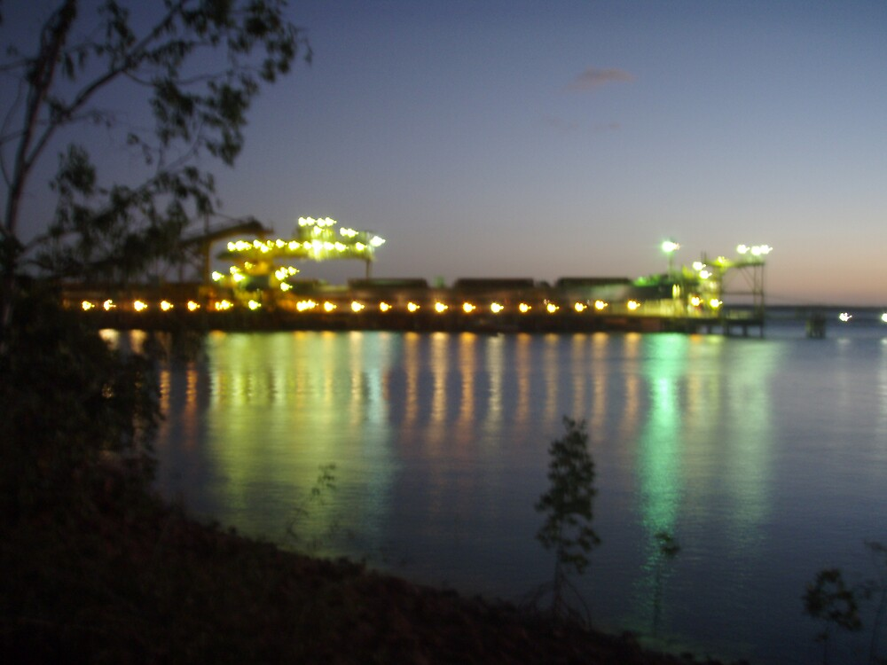Night ship loading by salisburys
