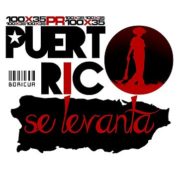 Puerto Rico Se Levanta by Llg-Design