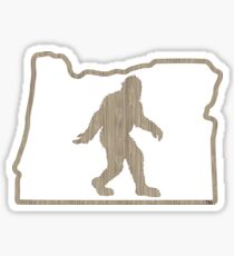 Squatchin'Oregon 'Woody' Sticker