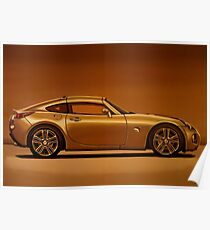 Pontiac Solstice Coupe 2009 Painting Poster