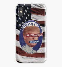 God Save the Trump Pistols iPhone Case/Skin