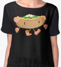 Hot Dog! Chiffon Top