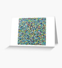 The Chemical Darted (cmyk) Greeting Card