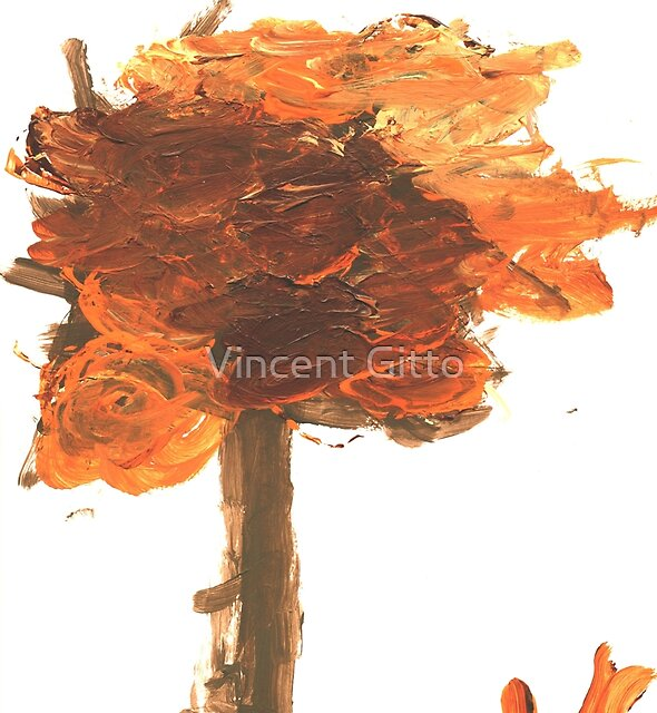 A Fall Tree by Vincent Gitto