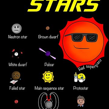 Types of Stars by -Andropov-