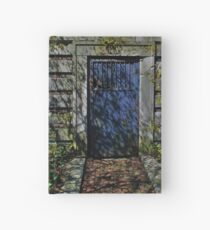 Secret Garden Door Hardcover Journal