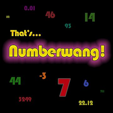 Numberwang! by GarfunkelArt
