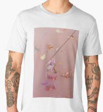 Harry Styles - pink flowers Men's Premium T-Shirt