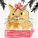 Meowy Christmas by cmanning