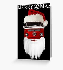 VW Merry Christmas Greeting Card