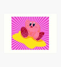 Kirby Bits Art Print