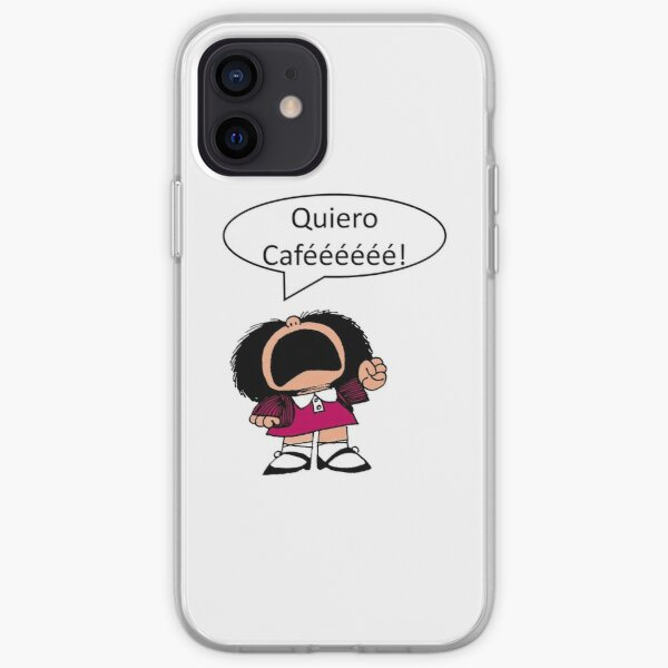 Mafalda, Café, Coffee Funda blanda para iPhone