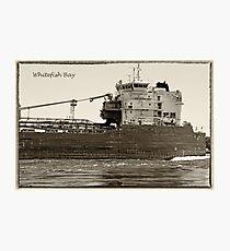 Whitefish Bay Detail Antique Photographic Print
