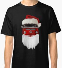 VW Santa Claus - black background Classic T-Shirt