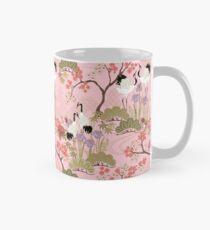 Japanese Garden in Pink Mug
