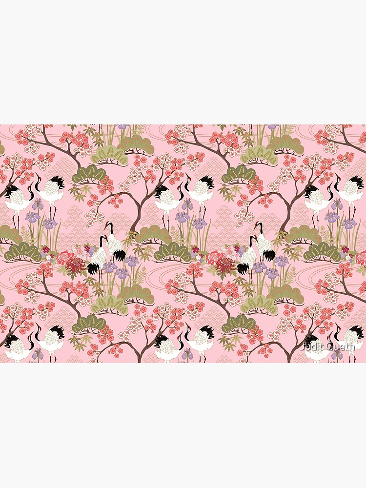 Japanese Garden in Pink by juditgueth