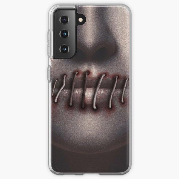 Lips Sewn Shut Samsung Galaxy Soft Case