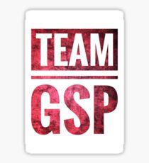 TEAM GSP (Red &White) Sticker