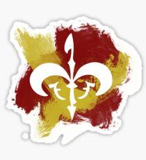 Watercolor Royal Symbol Sticker
