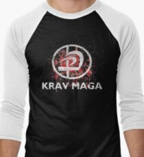 Cool Unique Krav Maga Design  Men's Baseball ¾ T-Shirt