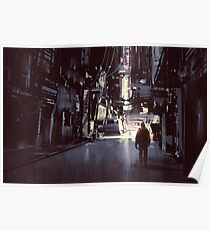 Sci Fi Cyber Punk Science Fiction Digital Painting Poster
