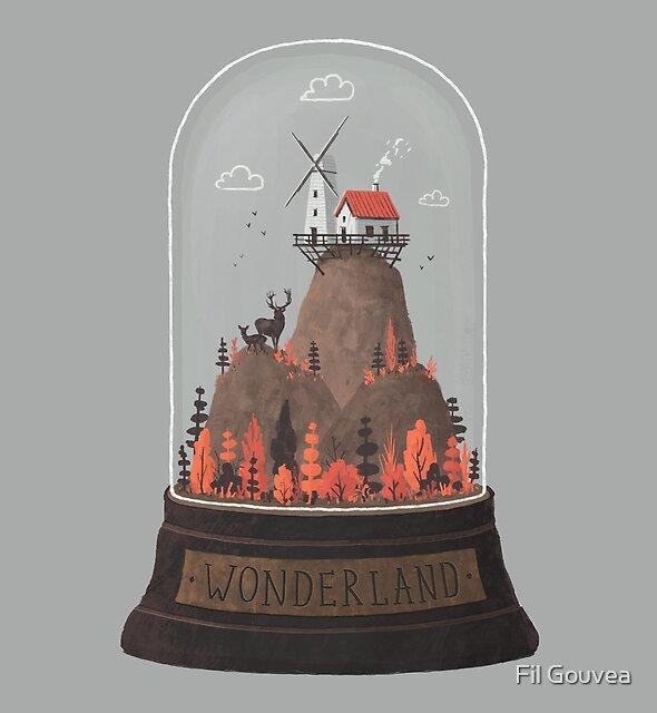 Wonderland by Fil Gouvea