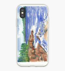 Lake Superior Rocky Shore iPhone Case