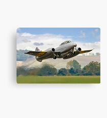 Meteor T.7 debut take-off Canvas Print