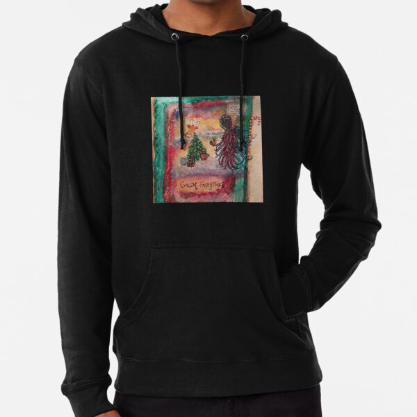 Grim Greetings  Lightweight Hoodie