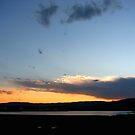 Sunset over Regatta Waters by Kathie Nichols