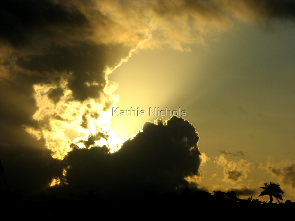 Sunset in April by Kathie Nichols