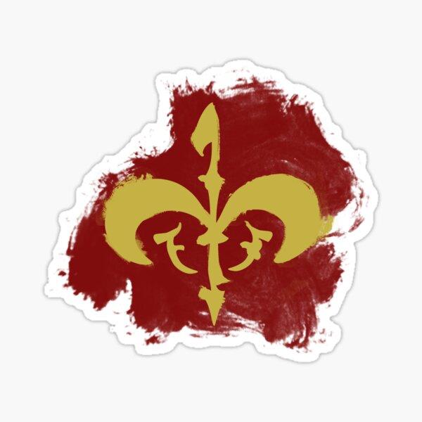 Watercolor Royal Symbol (Version 2) Sticker
