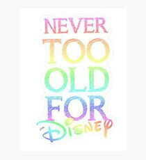 Never too old! Photographic Print