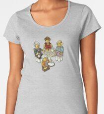 Golden Blocks Women's Premium T-Shirt
