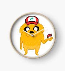 Poke-Jake Funny Adventure Time Mashup Clock