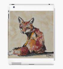 Red Fox Kit iPad Case/Skin