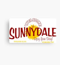 buffy - welcome to sunnydale Canvas Print