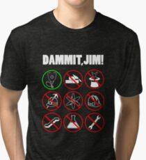 mataem picek Just a Country Doctor Tri-blend T-Shirt