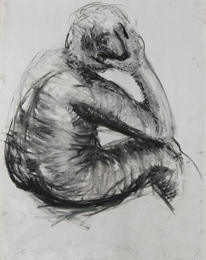 life drawing by Debra Goldsmith