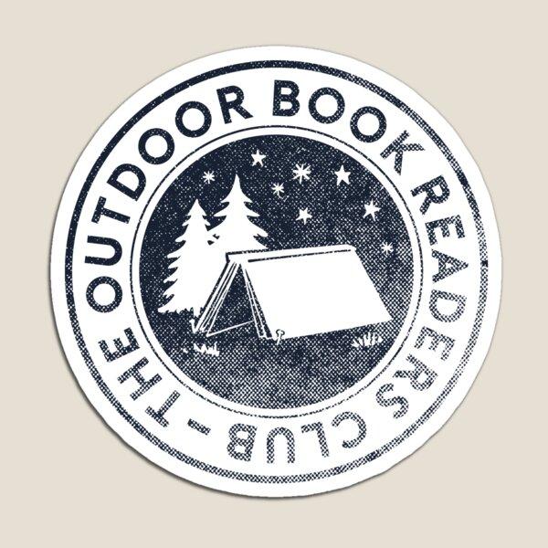 Outdoor Book Readers Club logo Magnet