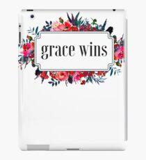 Inspiring Christian Grace Wins Every Time  iPad Case/Skin