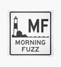 Morning Fuzz Highway Sign Scarf