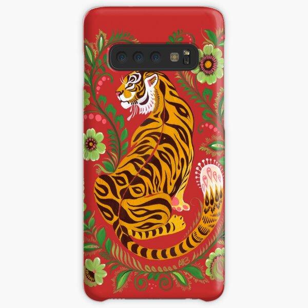Tiger Folk Art Samsung Galaxy Snap Case