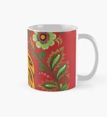Tiger Folk Art Mug