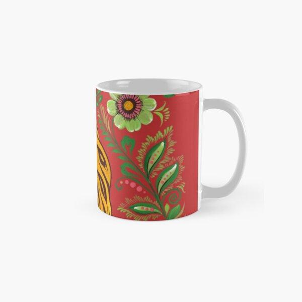 Art populaire tigre Mug classique