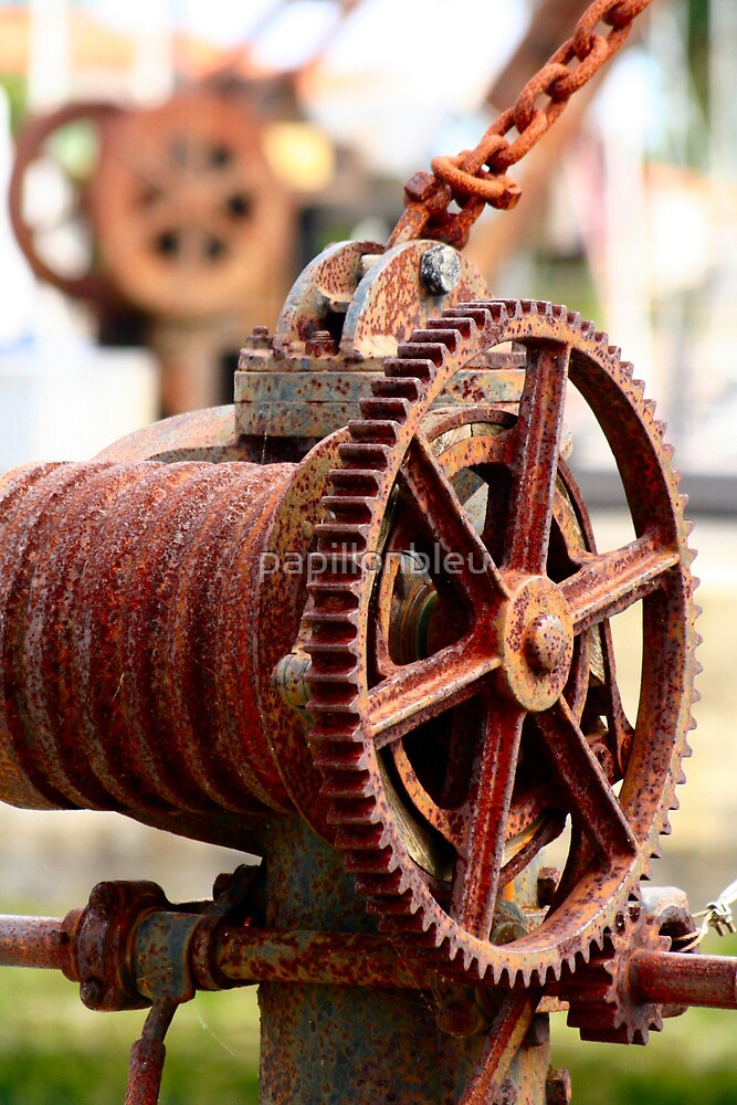 Old Winches by Pamela Jayne Smith