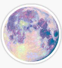 Purple Moon Sticker