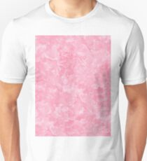 Rosy Scales Marble Texture Unisex T-Shirt