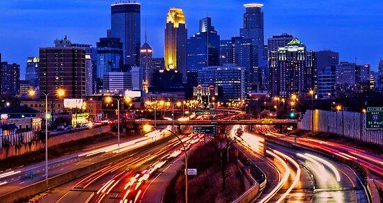 Minneapolis Saturday Night by shutterbug2010